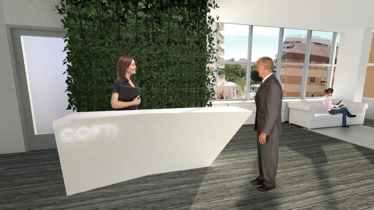 Arquitecto Marcos Tamagnone - Proyectos - Oficinas Marbella 360 - Entrada