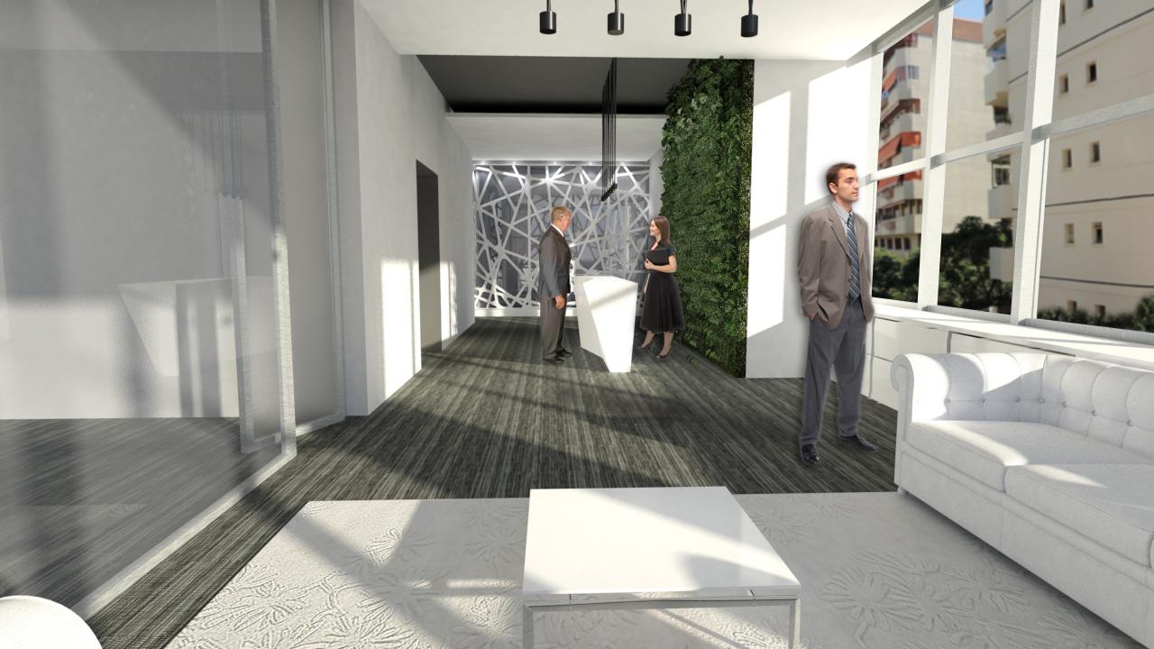Arquitecto Marcos Tamagnone - Proyectos - Oficinas Marbella 360 - Espera