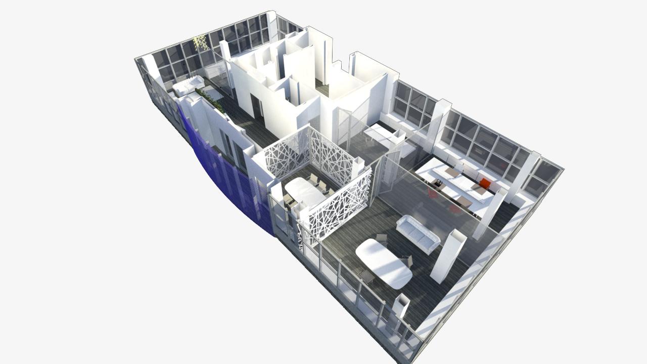 Arquitecto Marcos Tamagnone - Proyectos - Oficinas Marbella 360 - General