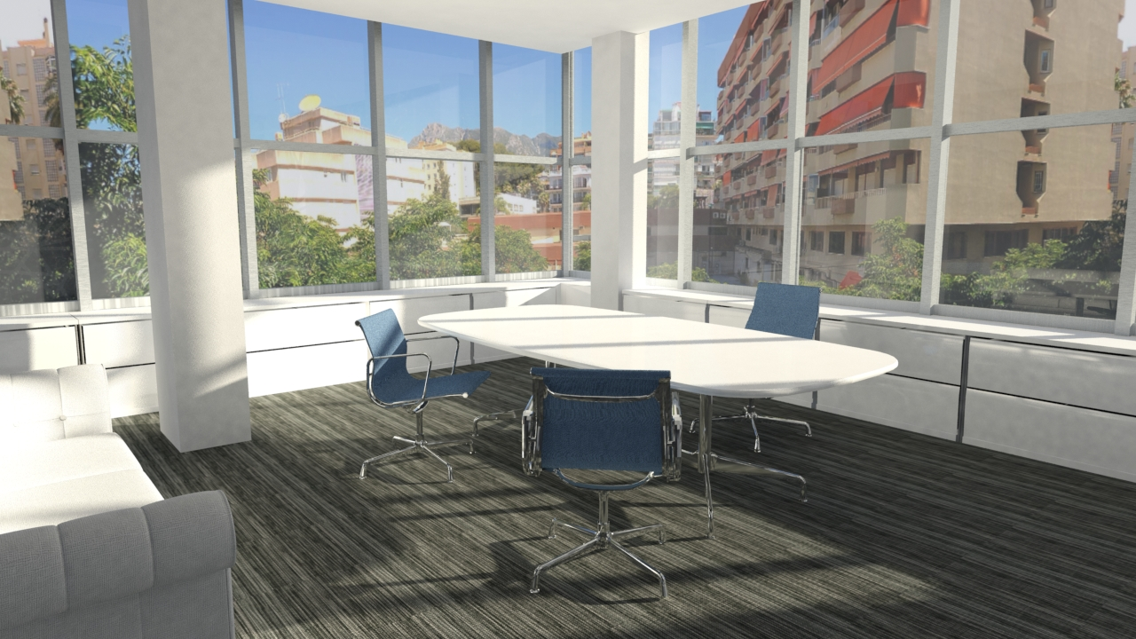 Arquitecto Marcos Tamagnone - Proyectos - Oficinas Marbella 360 - Oficina